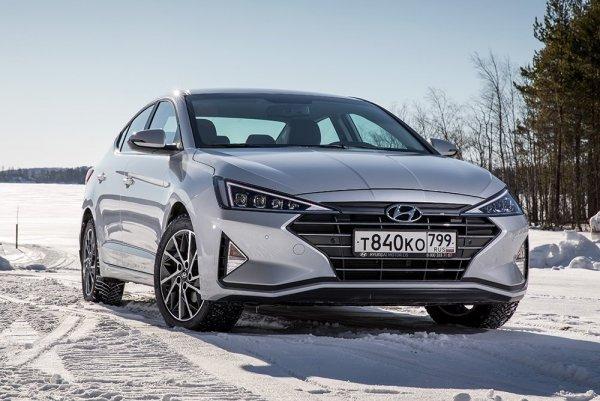 Названы цены на обновленный седан Hyundai Elantra в России