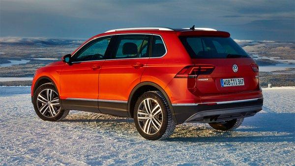 «Немец» в русском лесу: Volkswagen Tiguan удивил качеством обвеса