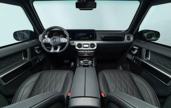 Представлена бронированная версия нового Mercedes-AMG