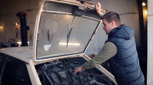 «Инженеры «АвтоВАЗ» нервно курят в сторонке»: О доработке «восьмёрки» движком V8 рассказал блогер