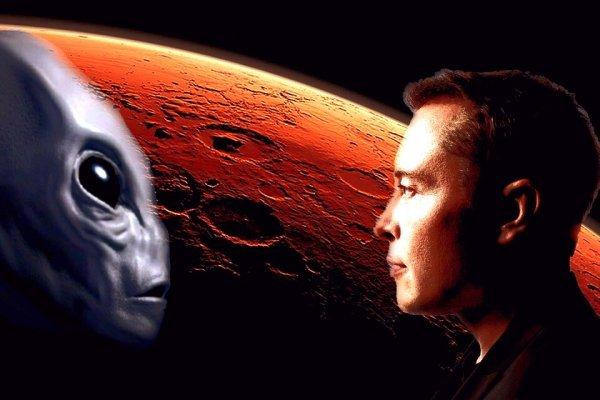 Маск сорвал маску: глава компании Space X подтвердил существование марсиан