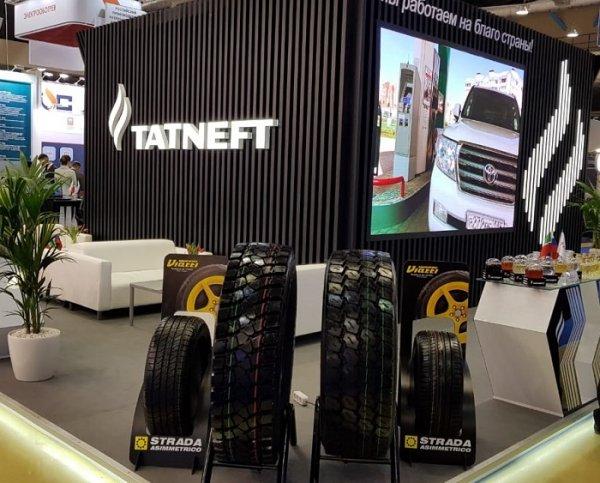 Легковые и грузовые ЦМК шины производства KAMA TYRES на выставке «Нефтегаз-2019» получили высокие оценки