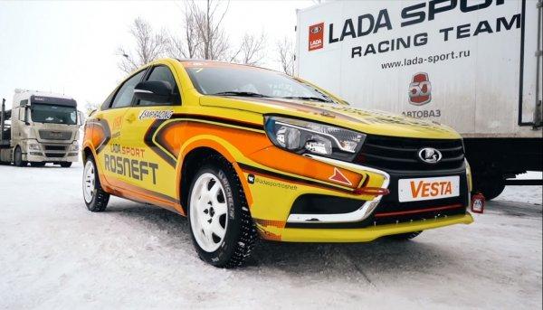 «Настоящая» LADA Vesta Sport: Как сделать «Супер-Весту» рассказал блогер