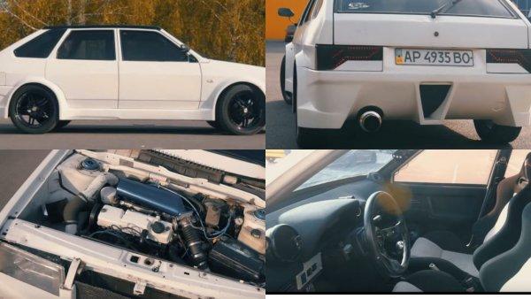 «Девятка», от которой «даже Вин Дизель в шоке»: Турбированный ВАЗ-2109 показали в сети