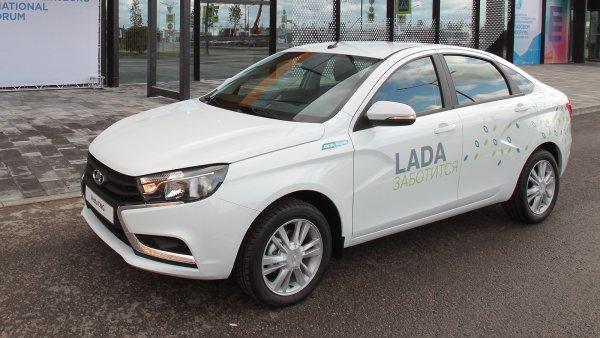 «Не связывайся пока, сырой автомобиль»: Почему не стоит брать LADA Vesta CNG для работы в такси – сеть
