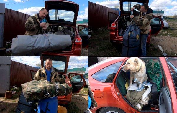 «Все свое ношу с собой»: На что способен багажник LADA Granta показал блогер