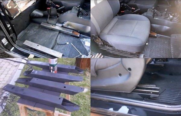«Встали как родные»: Стоит ли устанавливать кресла от иномарки в LADA 4x4 рассказал владелец