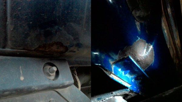 «Позор малярам «АвтоВАЗ»: Как избавиться от легкой ржавчины на LADA 4x4, объяснил водитель