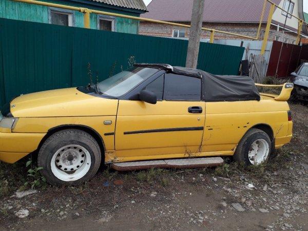 «Колхоз» или секретный концепт «АвтоВАЗ»? ВАЗ-2110 в кузове кабриолет обсудили в сети