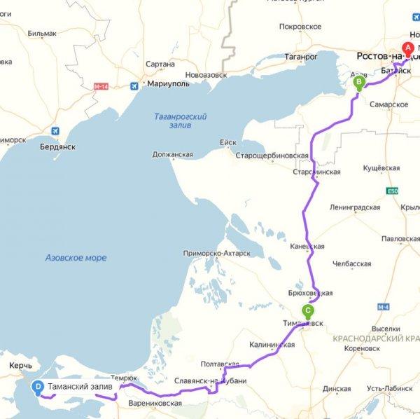 Лучший маршрут по М4 «Дон»: Как объехать пост в Цукеровой Балке, рассказали в сети