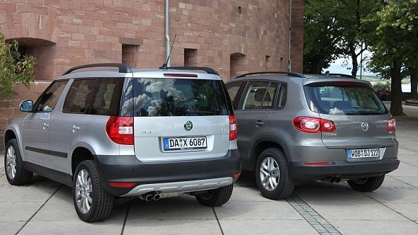 Так похожи, и такие разные. Эксперт рассказал, кто лучше – Skoda Yeti или Volkswagen Tiguan