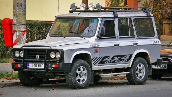 «Румынский Крузак»: В интернете продают редкий рамный внедорожник АRO-24 D