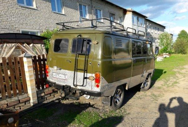 «Биоразлагаемый» УАЗ: В сети показали шокирующую УАЗ «Буханку» 2008 года