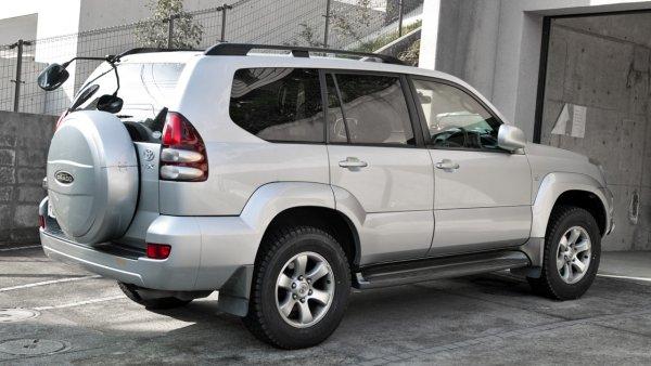 Блогер рассказал, как правильно осматривать Б/У Toyota Land Cruiser Prado 120 перед покупкой