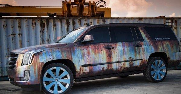 «Проект Ведровер»: Пользователи высмеяли Range Rover с тюнингом под «автохлам»