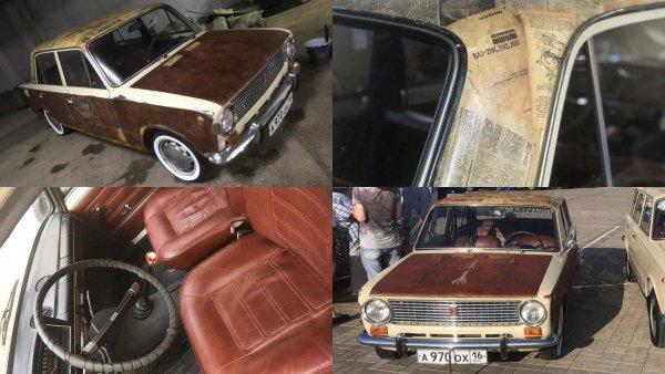 Классика «на стиле»: Водители оценили ВАЗ-2101 с «ржавым» тюнингом