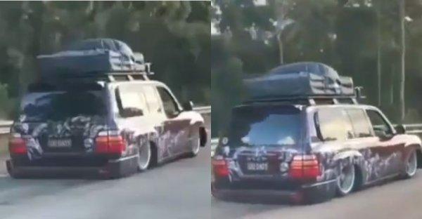 Кто сказал, что «Крузаки» не занижают? В сети удивились Toyota Land Cruiser 200 в стиле БПАН