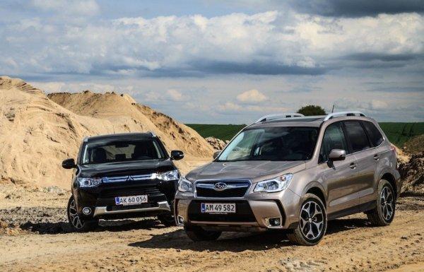 «Битва на вариаторах»: Сравнение Mitsubishi Outlander и Subaru Forester