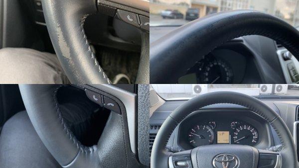 «Тойота уже не та»: Владельцы Toyota Land Cruiser Prado жалуются на «облезлый» руль