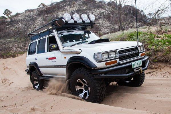 Экономичный «убийца» бездорожья: 25-летний Toyota Land Cruiser 80 достоин восхищения