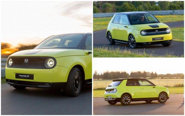 Электрический хэтчбек Honda E – отдых для глаз на фоне «диких» новинок Франкфурта