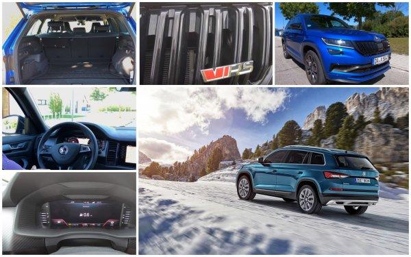 «Это абсолютно богатый автомобиль»: Блогер протестировал Skoda Kodiaq RS 2020