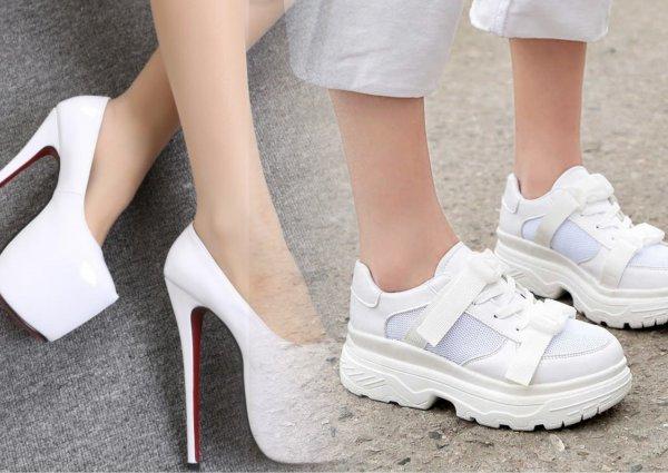 Каблуки все на помойку! Агли-кроссовки окончательно «уничтожили» неудобные туфли