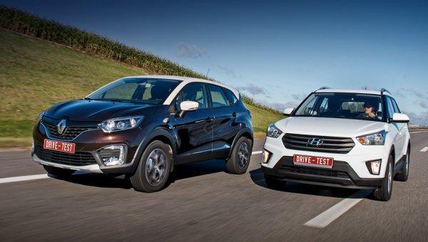 Кто динамичнее, а кто комфортнее? Сравнение Hyundai Creta и Renault Kaptur
