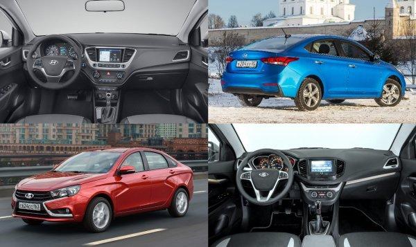 Бывший владелец LADA Vesta оценил Hyundai Solaris: «Весту спасает только цена»