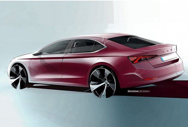 Какой станет новая Skoda Octavia – «азиатская» внешность и ценник в 1,3 миллиона