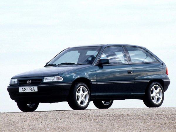 Вместо «убитого» Renault Logan и 30-летнего ВАЗа: Opel Astra F – достаточно бюджетно и в меру надёжно