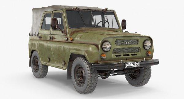 «УАЗРОВЕР»: Сеть восхитил УАЗ-469 в обвесе от Toyota Land Cruiser