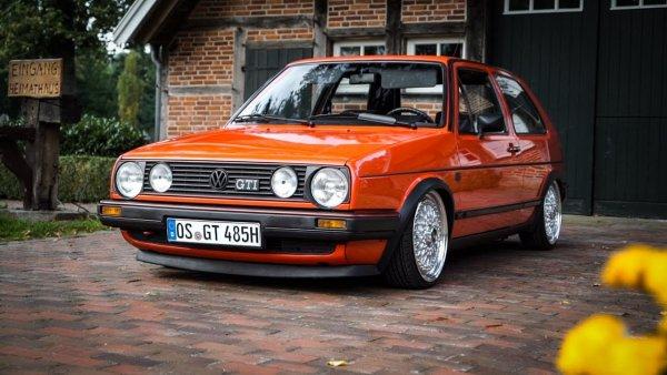 Таких машин уже не будет никогда: Volkswagen Golf MK2 GTI – 35-летняя мечта
