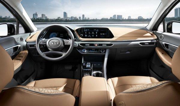 Однозначно лучше «Камри»: Первый взгляд на новый Hyundai Sonata 2020