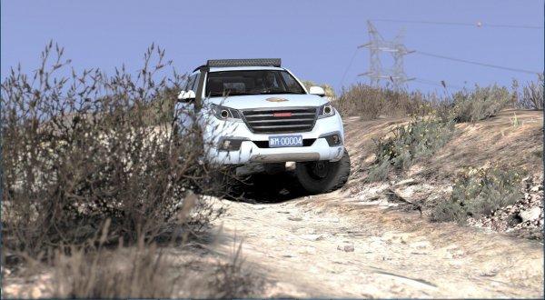 «Дури предостаточно в обоих»: Сравнение Toyota Land Cruiser 200 и Haval H9 на тяжёлом бездорожье