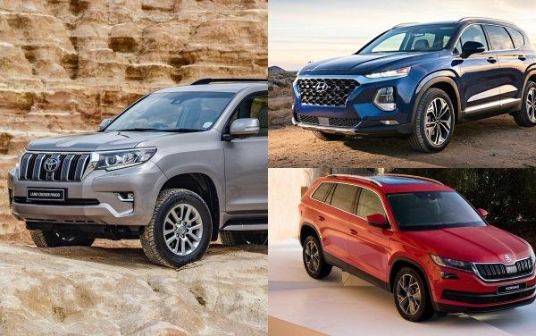 Россияне «познали дзен» и выбрали дизель: Почему бензиновые TLC, Hyundai Santa Fe и Skoda Kodiaq больше не в ТОПе?