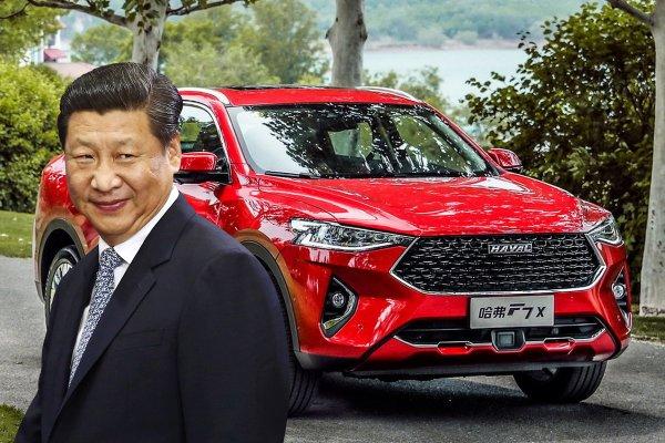 Китайцы обманывают? Haval F7x заехал на диностенд