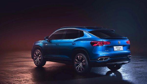 Новый год приносит подарки: К старту продаж готовится кросс-купе Volkswagen Tylcon