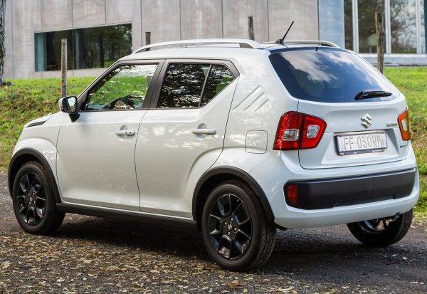 «Сандеро», давай до свидания:  Обновленный Suzuki Ignis засветился на фотографиях