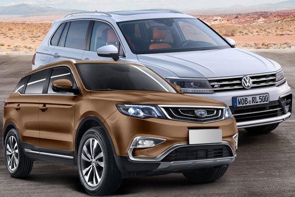 В чем «китаец» даст прикурить «ВАГу»: Сравнивать Volkswagen Tiguan и Geely Atlas больше не стыдно