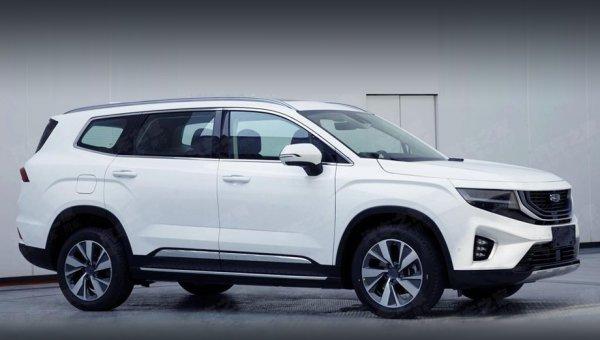 Бюджетный аналог Toyota Highlander выходит на рынок: Китайцы приготовили «конфетку» в лице Geely VX11