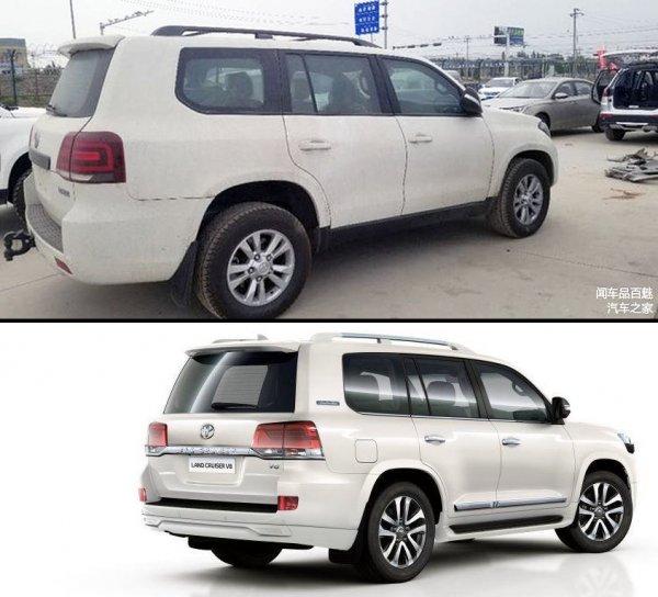 «Крузак» за копейки: Китайцы выпустили копию Toyota Land Cruiser 200 – Hengtian L4600