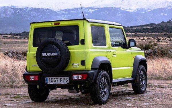 Ни к селу, ни к городу: Suzuki Jimny в Европе переквалифицируют в грузовик