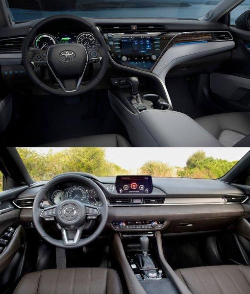«Пощупал Мазду и расстроился»: Владелец Toyota Camry XV70 сравнил ее с Mazda 6 – «мелочи» заставили пожалеть о покупке «Камри»
