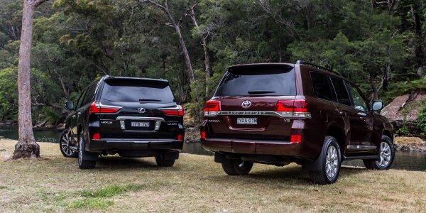 Красота или практичность? Что лучше: Lexus LX или Toyota LC 200