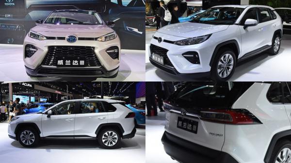 Овечка Долли для Китая: Перелицованный Toyota RAV4 для Поднебесной сделали «диким» и более дешевым
