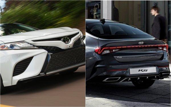 Японцы расслабились – корейцы воспользовались: Toyota Camry стоит на одном уровне с KIA Optima – по качеству, цене, безопасности