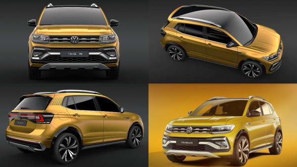 «Фольксваген» превращается в матрешку: Не по карману Volkswagen Tiguan - купи его мини-копию Taigun