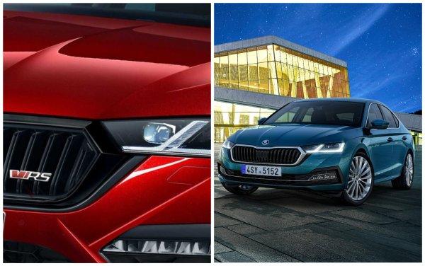 «Это вам не Меган Маркл, а всего лишь Рено»: Эксперты уверены, что «расфуфыренной» Skoda Octavia RS 2020 и Renault Megane по зубам