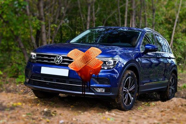 Беда пришла откуда не ждали: Не DSG, так TSI — движок Volkswagen Tiguan «накрылся» после первого тест-драйва